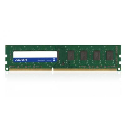 Adata RAM-geheugen: 8GB, DDR3L, U-DIMM, CL11 - Groen