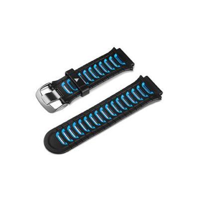 Garmin horloge-band: Band, Blue/Black For Forerunner - Zwart, Blauw