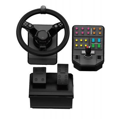 Logitech game controller: Farm Sim Controller, USB - Zwart