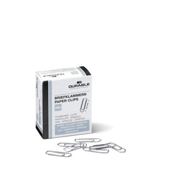 Durable Paperclips Verzinkt 32 Mm Paperclip