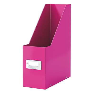 Leitz tijdschrift houder: Click & Store - Roze