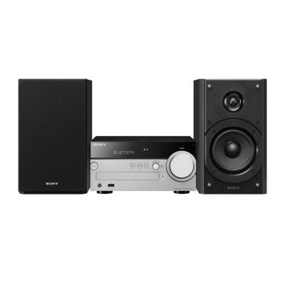 Sony CMT-SX7 Home stereo set - Zwart, Zilver