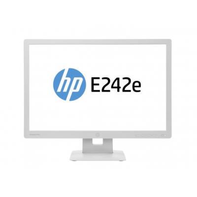 Hp monitor: EliteDisplay E242e - 24'' - Grijs