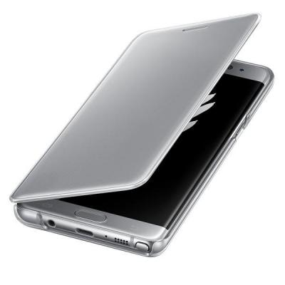 Samsung mobile phone case: Clear View - Zilver