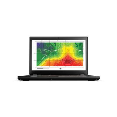 Lenovo laptop: ThinkPad P50 - Zwart