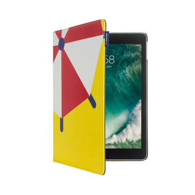 Gecko Apple iPad 9.7 inch (2017/2018) Easy-Click Cover - Summer Edition Umbrella Tablet case