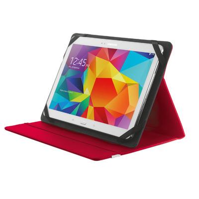 """Trust PRIMO FOLIO CASE 10"""" RED Tablet case"""