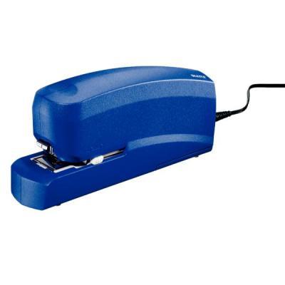 Leitz nietmachine: Grote elektrische Nietmachine 5533, met adapter - Blauw
