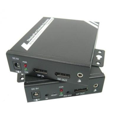 Digitus AV extender: DisplayPort over IP Extender - Zwart