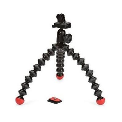 Joby tripod: Action Tripod with GoPro Mount - Zwart, Rood