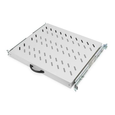 Digitus Sliding Shelf for 600mm depth Cabinets Rack toebehoren - Grijs