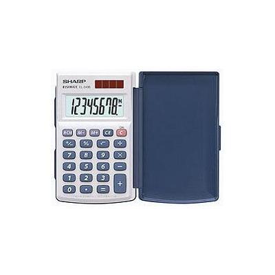 Sharp EL-243S Calculator - Zilver
