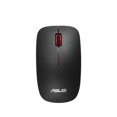 Asus computermuis: WT300 - Zwart, Rood