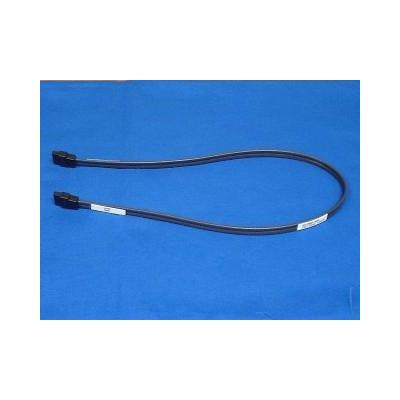 Hp ATA kabel: SATA hard drive cable - Has a 7-pin to 7-pin, right angled connector, 48.26cm (19in) long - Zwart