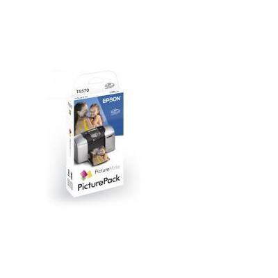 Epson inktcartridge: PicturePack 6-Coulered T5570 T5570 - Zwart, Cyaan, Lichtyaan, Lichtmagenta, Magenta, Geel
