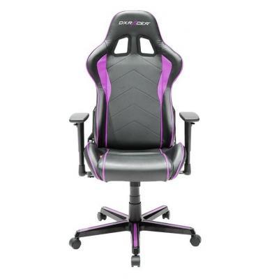 Dxracer stoel: Armrests 1D, Fabric: PU, Base: Metal, Load: 100kg, Weight: 25kg, Black/Pink