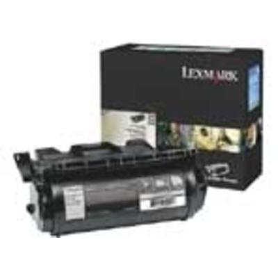 Lexmark T640, T642, T644 High Yield Return Program Print Cartridge Toner - Zwart
