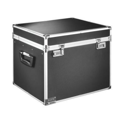 Leitz rack: Afsluitbare Opbergkoffer voor hangmappen, A4 - Zwart