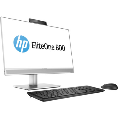 Hp all-in-one pc: EliteOne 800 G4 - Zwart, Zilver