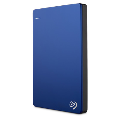Seagate Backup Plus Slim Portable 2TB Externe harde schijf - Blauw