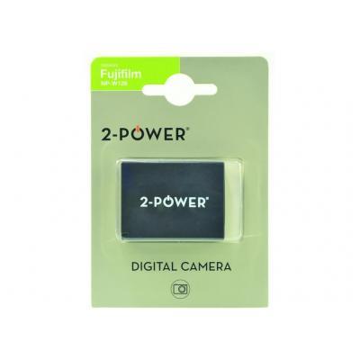2-Power Digital Camera Battery 7.4v 950mAh - Zwart