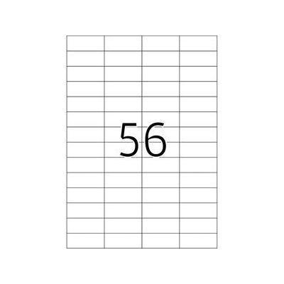 Herma etiket: Etiketten wit Movables/verwijd. 52.5x21.2 A4 1400 st