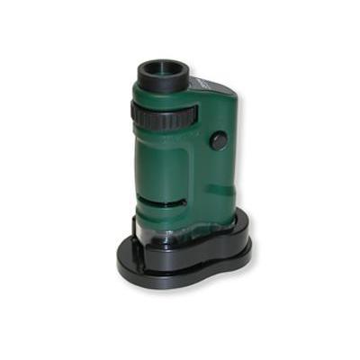 Carson microscoop accessoire: MM-24 - 20-40x, 3 x LR-44 - Zwart, Groen