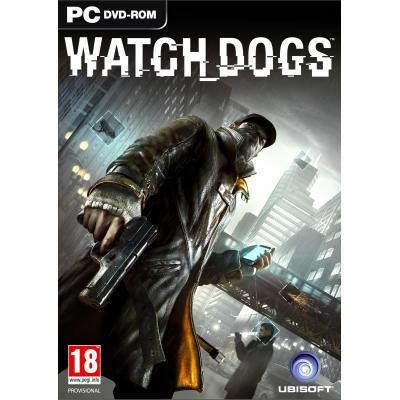 Ubisoft game: Watch Dogs  (DVD-Rom)