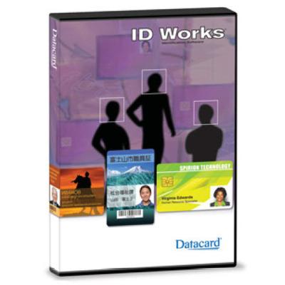 DataCard ID Works Standard Grafische software