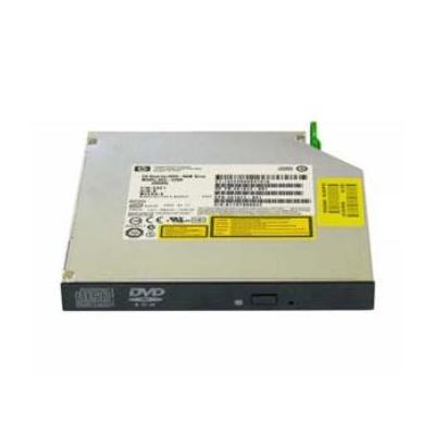 HP DVD±RW, CD-RW Super Multi Double-Layer Combo Drive with LightScribe brander - Zwart, Grijs