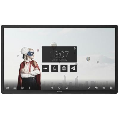 Ctouch touchscreen monitor: Laser air+ 86 inch UHD - Zwart