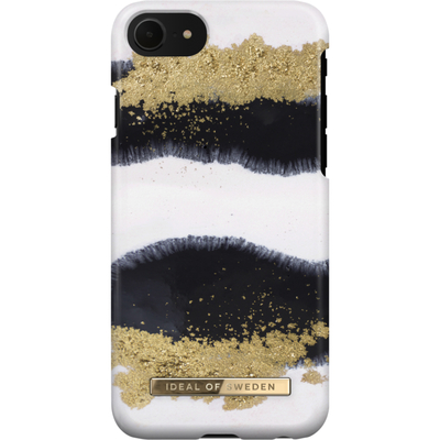 IDeal of Sweden Fashion Backcover iPhone SE (2020) / 8 / 7 / 6(s) - Gleaming Licorice Mobile phone case