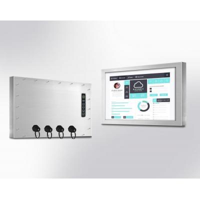 "Winsonic IP66 Chassis, 60.96 cm (24"") LCD monitor, 1920 x 1080, LED 250 nits, VGA input Public display - ....."