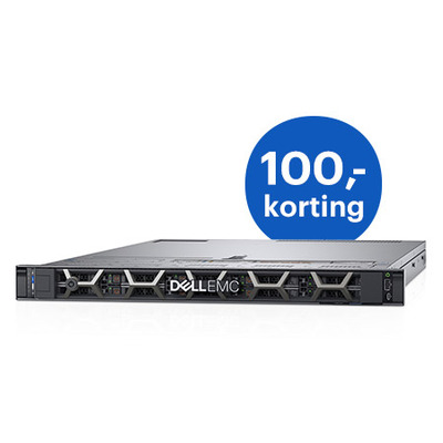 DELL PowerEdge R640 Server - Zwart