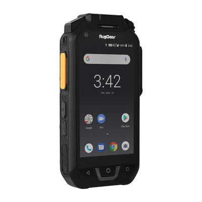 "RugGear RG725 4G 16GB 4"" Android Smartphone - Zwart"