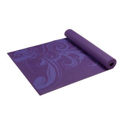 Gaiam fitness, gymnastiek & gewichtstraining: Fitness- / Yogamat - 5 mm - Deep Plum Surf