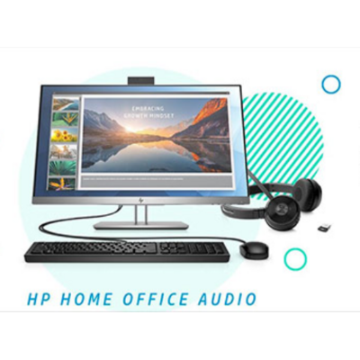 HP EliteDisplay HOME OFFICE AUDIO BUNDEL Monitor - Zilver
