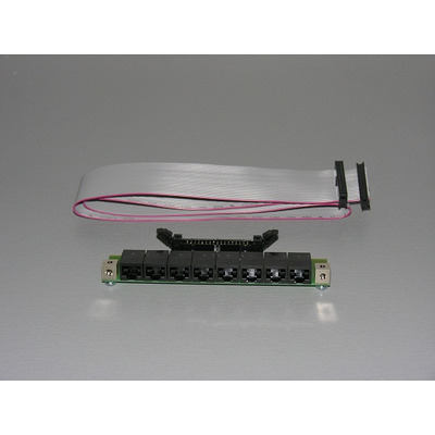 Wantec patch panel accessoire: 2002 - Zwart