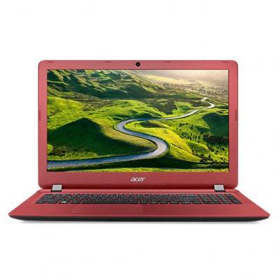 Acer laptop: Aspire ES1-523-60YZ - Zwart, Rood