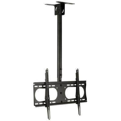 "Valueline flat panel plafond steun: TV ceiling mount, 42 - 65""/107 - 165 cm, 45kg - Zwart"