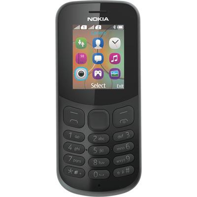 Nokia 130 (2017) Mobiele telefoon - Zwart