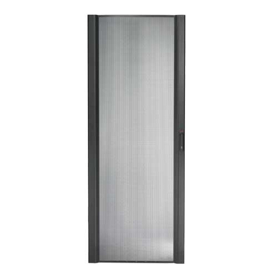 APC NetShelter SX 48U 750mm Wide Perforated Curved Door Rack toebehoren - Zwart, Zilver
