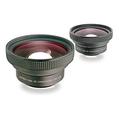 Raynox 0.66x, 3-group/3-element, 72mm, 168g, Black Camera lens - Zwart