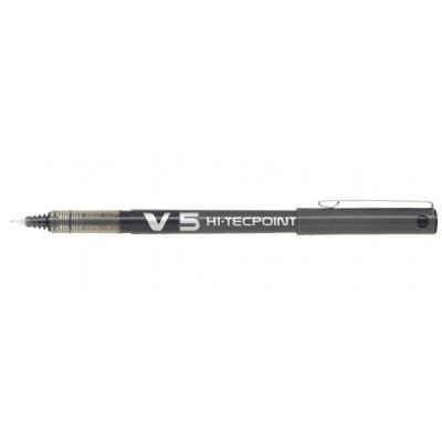 Pilot pen: Hi-Tecpoint V5 - Zwart