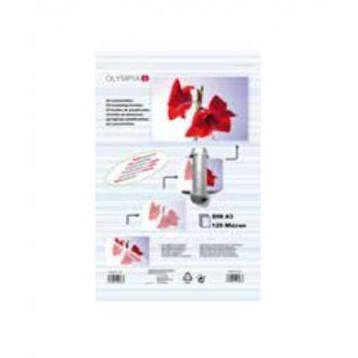 Olympia DIN A3 - 25 x 125 MIC Laminatorhoes - Transparant