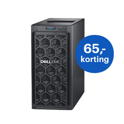 DELL PowerEdge T140 Server - Zwart