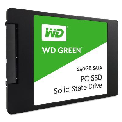 Western digital SSD: Green PC SSD 240GB - Zwart, Groen, Wit