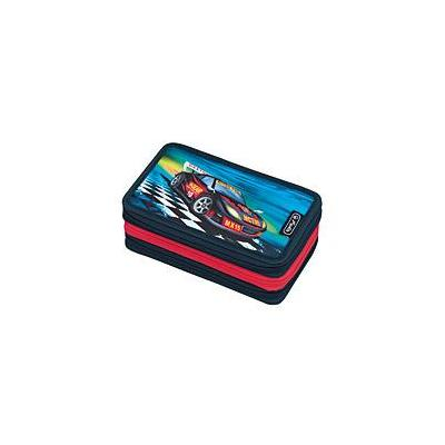 Herlitz potlood case: Super racer - Multi kleuren