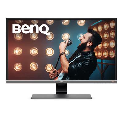 Benq EW3270U Monitor - Zwart,Grijs,Metallic