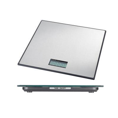 Maul brievenweger: 32.2 x 32 x 3 cm, 100 kg, LCD - Zwart, Zilver